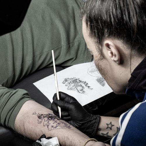 tash handpoked tattoo cursus